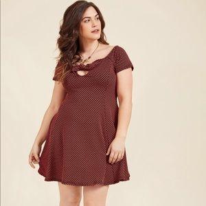 ModCloth Flirty Proclivity Mini Dress